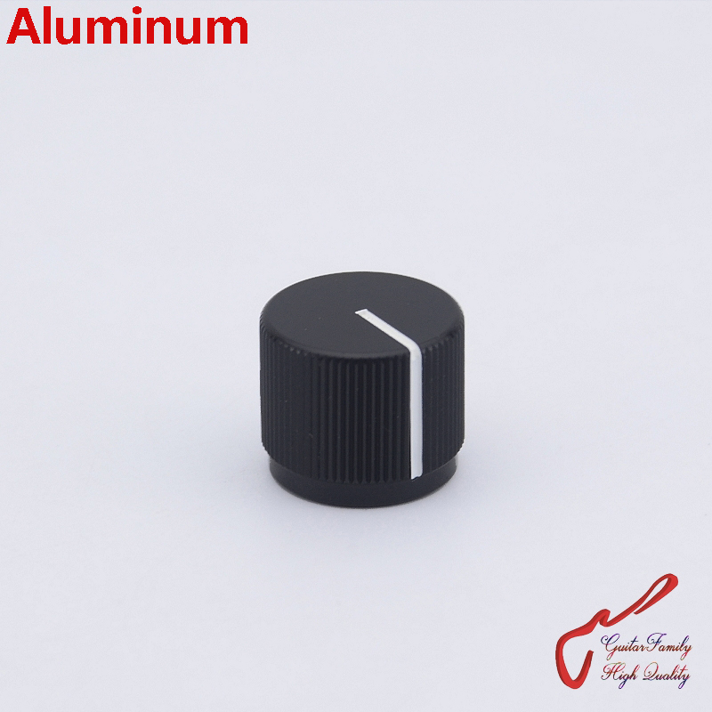 1 Piece GuitarFamily Aluminum Flat Top Knob For Electric Bass 16MM*19MM*6.0MM MADE IN JAPAN