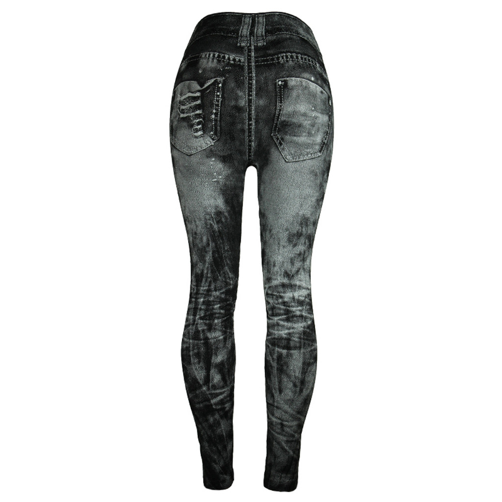HTB1c0ztRXzqK1RjSZFvq6AB7VXa2 Unique style fashion beautiful and elegant Women Jeans Bottom Pants Coloured Hip-up Super Bomb Slim Nine-minute Gray Pant W30416