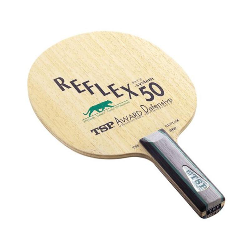 TSP Reflex 50 Award Defensive Table Tennis Blade (3 Ply DEF, Chop Attack) Racket Ping Pong Bat Paddle yinhe galaxy 980 defensive chop play table tennis blade chop racket ping pong bat paddle
