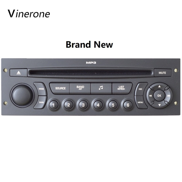 Brand New Original RD45 Car Radio with USB Bluetooth AUX Auto Audio CD Player