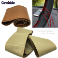 Diy Car Steering Wheel Cover Original Genuine Cowhide Leather Car Cover Steering Wheel With Two Needles Thread Car-Styling