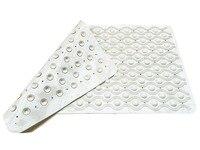 70cm X 40cm Premium Quality Non Slip Bath Mat Off White Colour Reduces Slipping Risk Mould