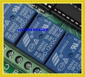 Image 3 - 12 V 8 CH ערוץ RF אלחוטי שלט רחוק מתג מערכת מקלט משדר שלט רחוק 315/433 8CH ממסר NC NO COM