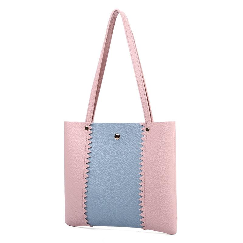 2018 European Style Womens Handbags Vintage Women Shoulder Bags Pu Leather Small Tote Fashion Rivet Coin Purse Bolsas Feminina