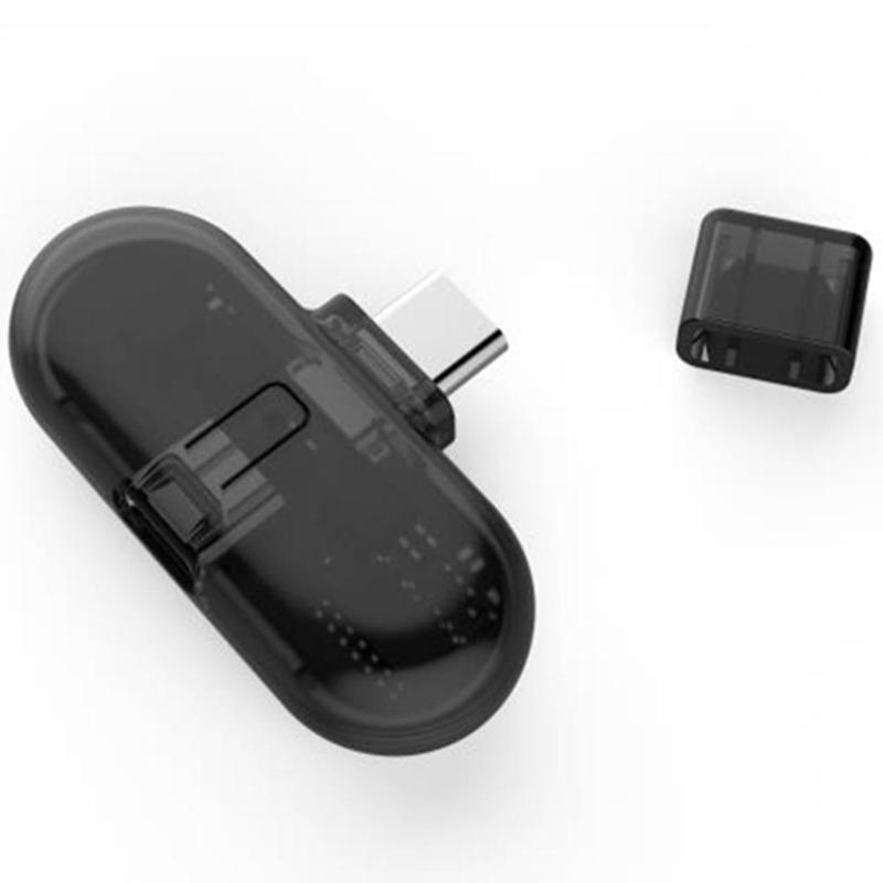 ALLOYSEED 1Pcs Wireless Bluetooth Earphone Receiver Type-C Audio Transmitter Adapter Converter for Nintend Switch for ns switch bluetooth wireless headset receiver adapter audio transmitter usb receiver adapter support aptx for earphone pc