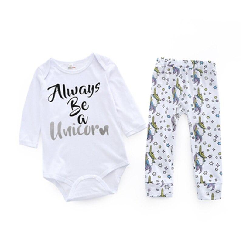 Newborn Kids Girls Clothing Sets Fashion Letter Print Coat+Pants 2pcs Spring Autumn Cute Animal Long Sleeve Bebes Clothes