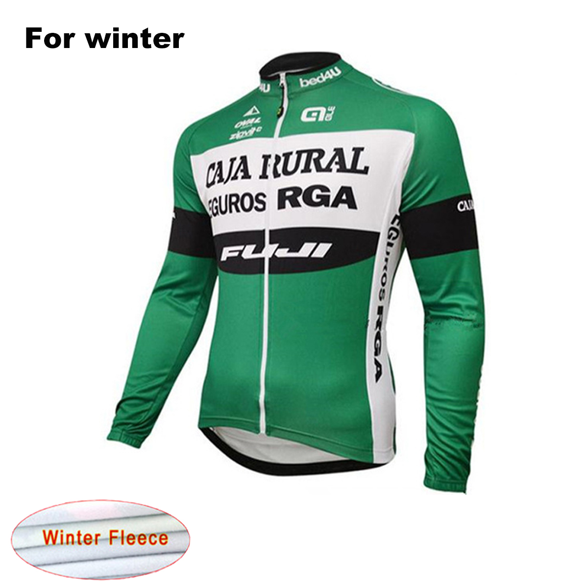 2017 Ale new Winter Men`s Long Sleeve Thermal Fleece Cycling Clothing Warm Ropa Ciclismo Maillot MTB Bicycle Jersey Bike Clothes