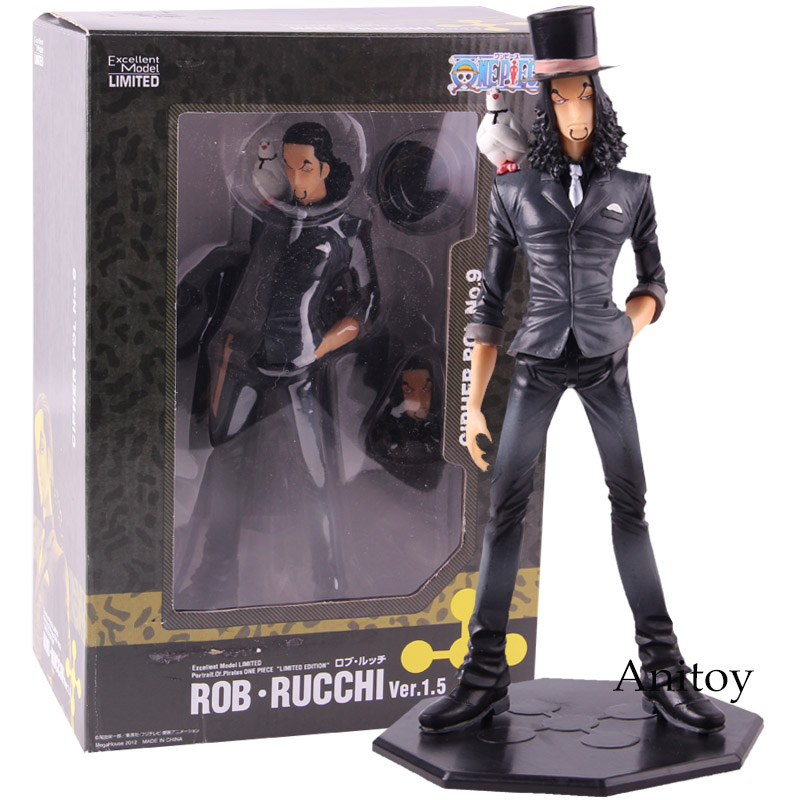 Portrait of Pirates One Piece Excellent Model CP9 Rob Rucchi Ver.1.5 PVC Action Figure Collectible Model Toy
