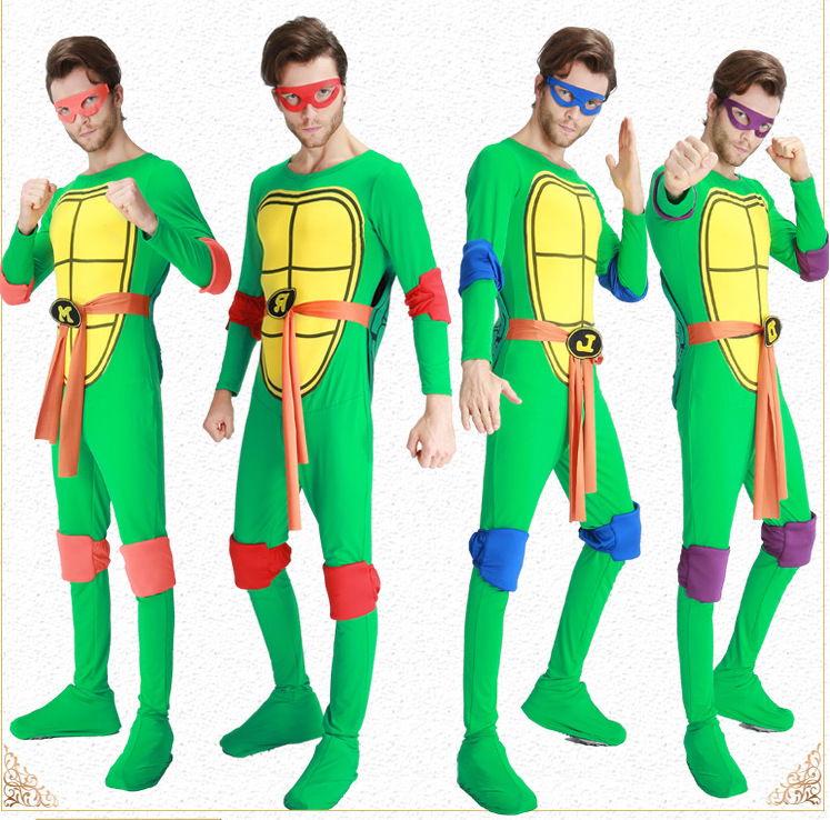 Teenage Mutant Ninja Turtles Adult Cosplay Role Playing Tights Animation Game Uniform Cosplay Costumes