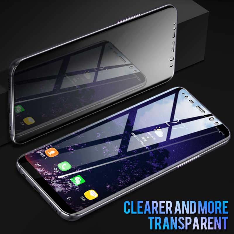 4 ชิ้น/ล็อต 3D เต็มรูปแบบ PET ฟิล์มนุ่มสำหรับ Samsung Galaxy S10 PLUS S10e Lite หมายเหตุ 10 Pro กระจกนิรภัย