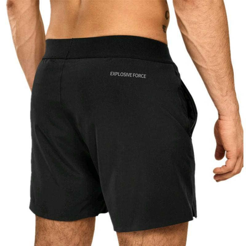Быстросохнущие мужские шорты, новые брендовые шорты для спортзала, фитнеса, бодибилдинга, шорты для тренировок, летние дышащие шорты