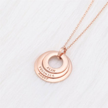 HIYONG Custom Necklace Personalize Choker Women Stainless steel Pendant Fascinating Name Girlfriend Best Lover