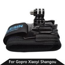 Gopro Аксессуары 360 Градусов Поворот Gopro Ремешок Оболочки Руку Ремень с Go Pro Адаптер Для HD Hero3 + 3 2 Камеры случае