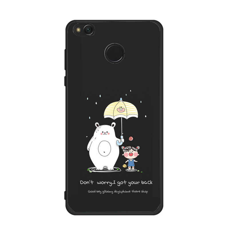 を Xiaomi Redmi ケース 4X カバー 3D かわいいバッグソフトシリコーン Redmi 4X 4A 5A のため redmi 4X Redmi4x 電話ケース