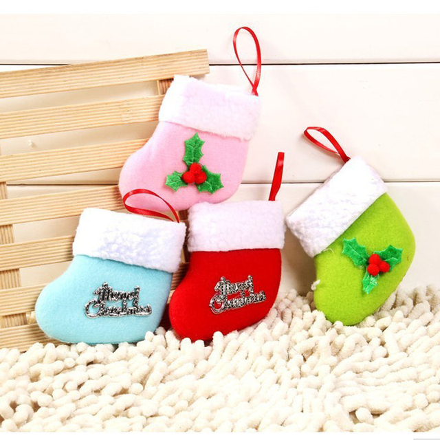 Creative Christmas Gifts High Grade Mini Christmas Stockings Xmas ...