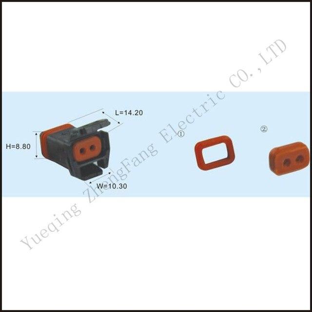mx19002s51 3mx02fbk male connector ecu terminal 2-pin plug connectors  jacket auto plug socket female