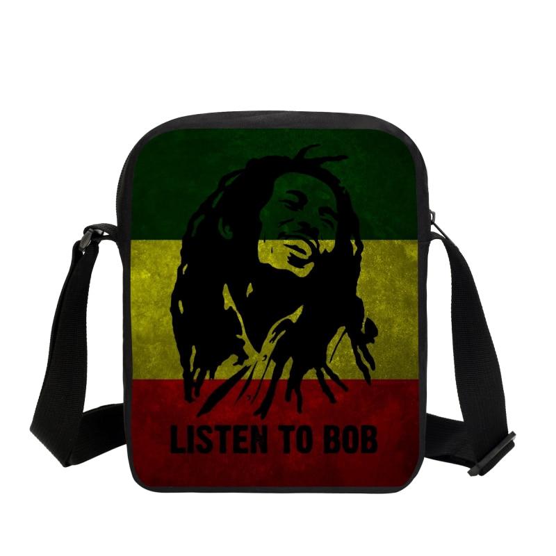 2019 Music Star Reggae Bob Marley Personaje Impreso Bolsas de - Bolsos - foto 3