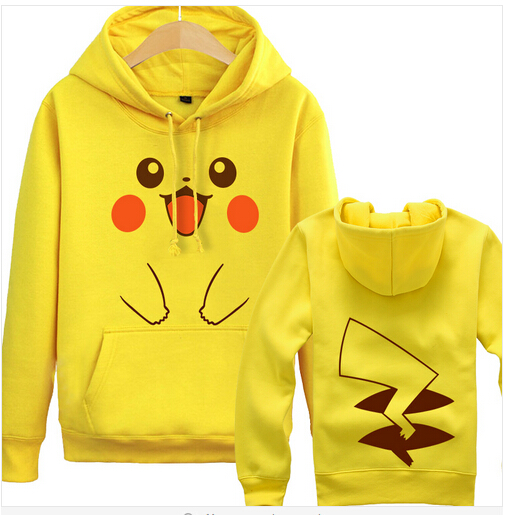 POKEMON ASH KETCHUM Pokeball super pika hoodie coat Pikachu jacket Cartoon sweatshirt