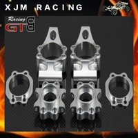 1/5 RC CAR CNC Alloy Rear Hub base Set fit HPI ROVAN GTB baja 5B/5T/5SC king motor