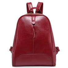 Дизайн женские рюкзаки натуральная кожа женский рюкзак женщины школьный для девочек большой Ёмкость плеча Путешествия Mochila Bolsa