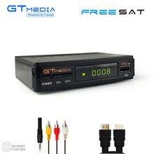 FTA Dual USB GTmedia Digital tv box Receptor Satellite Receiver DVB S2 TV Tuner Decoder Wifi