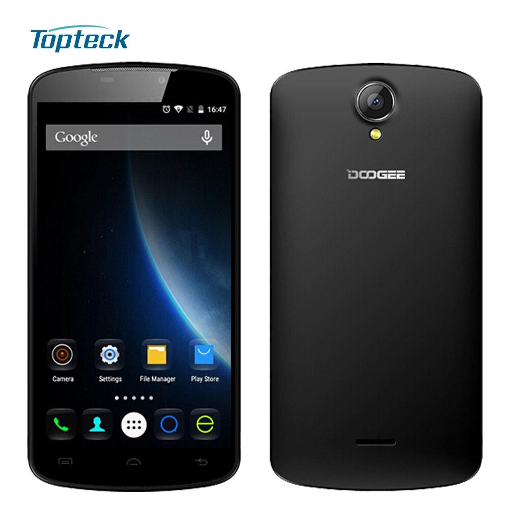 """Цена за Doogee X6 Pro / X6 4G 5.5 """"HD IPS смартфон Android 5.1 Quad Core MTK6735 Мобильный телефон 2GB + 16GB Мобильный телефон 3000mAh GPS мобильного телефона"""