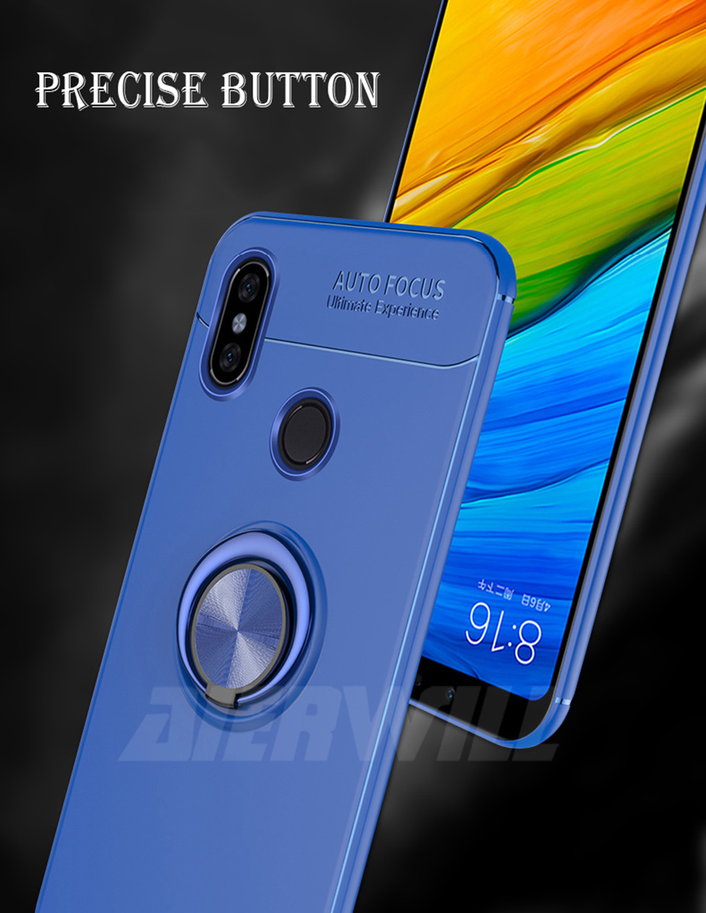 HTB1c12bXfvsK1RjSspdq6AZepXaE Armor case For Xiaomi Mi Max 3 Case Protective Bumper Finger Ring Holder Soft Silicone Matte Back Cover For Xiaomi max 3 Cases