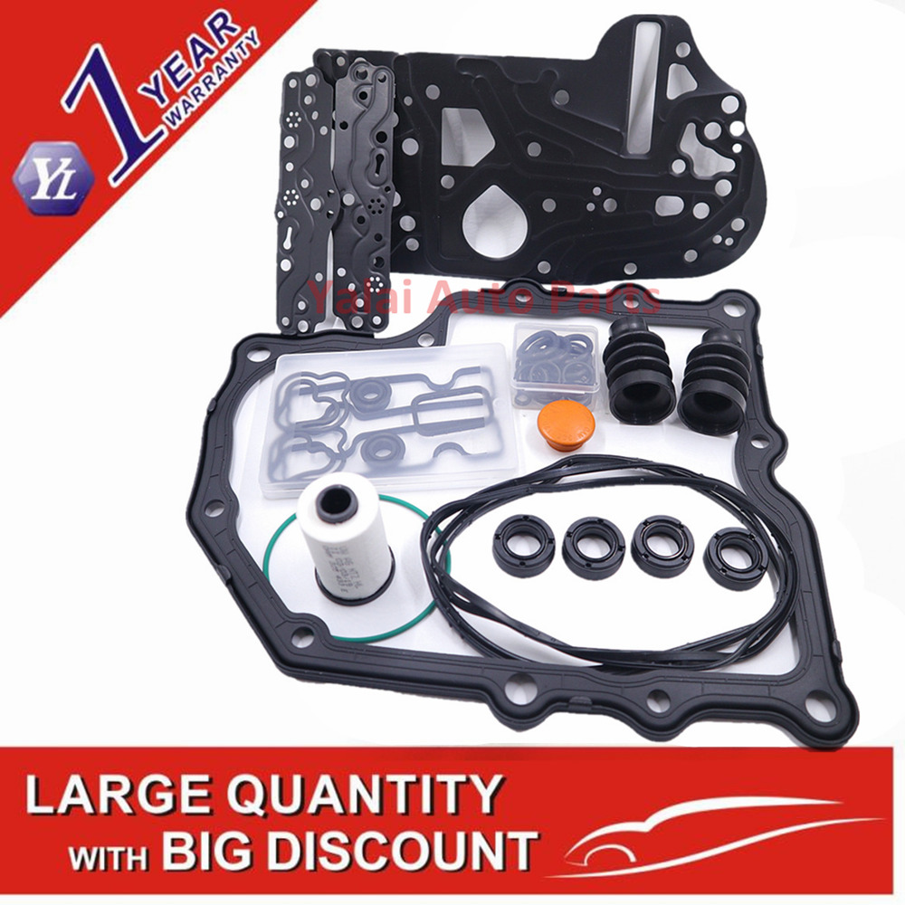 0AM OAM DSG DQ200 Gearbox Overhaul Gasket Filter Rubber Ring Dirt proof Cover Kit For VOLKSWAGEN