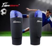 Дети взрослый футбол голени для подростков Дети Футбол ноги поддержка икры протектор спортивные голени рукав с ударопрочной подкладкой