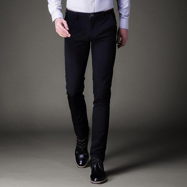 d3c703dd26c Jbersee Men Dress Pants Formal Pants Slim Fit Suit Pants Business Office  Casual Wedding Mens Dress Trousers perfume masculino