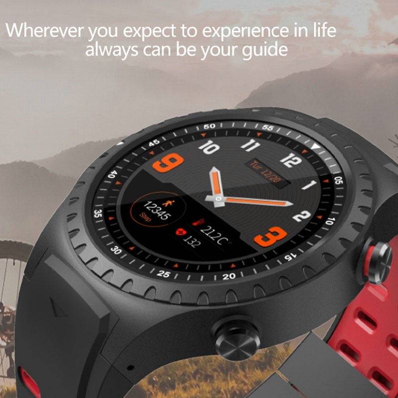 New upgraded GPS Smart watch heart rate smartwatch real time weather Bluetooth activity tracker compass sport wristwatch pk kw88