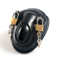 The Super Bowl Is Chastity Chastity Belt Lock Chaste Stainless Steel Metal Silicone Plastic CB6000SCB3000