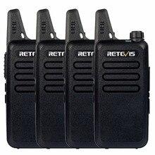 4 шт. рация Retevis RT22 UHF 400-480 мГц CTCSS/DCS тот VOX сканирование шумоподавления удобный Портативный CB радиостанция КВ трансивер A9121A