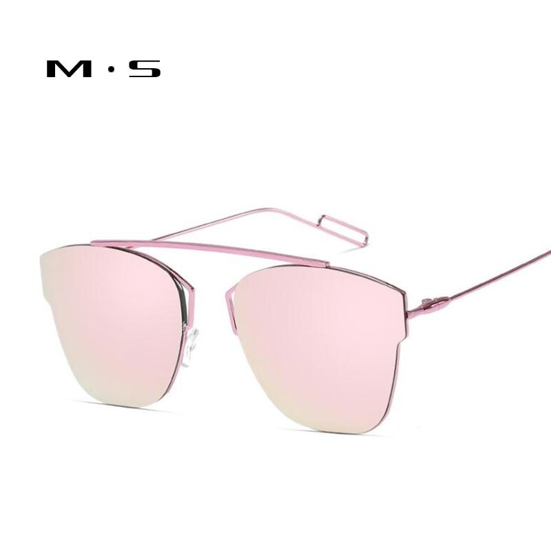 MS Women Cat Eye Sunglasses Classic Brand Designer Sunglasses High Quality Eyewear 2017 New Trendy