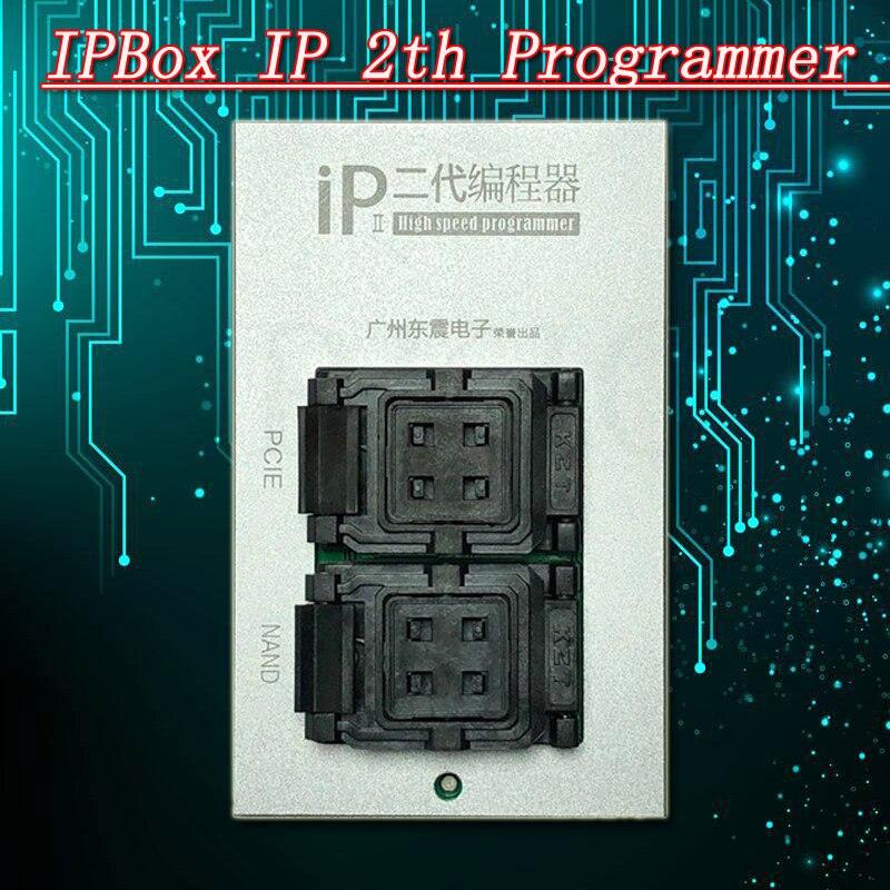 IPBox IP 2th haute vitesse programmeur Génération NAND PCIE 2in1 NAND Baseband Logique EEPROM IC Restaurer Les Données Lire Écrire De Sauvegarde