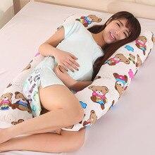 1,3 кг u-образная подушка для тела для беременных женщин, Подушка для беременных с медведем, удобная подушка, длинная подушка для сна, подушки для беременных
