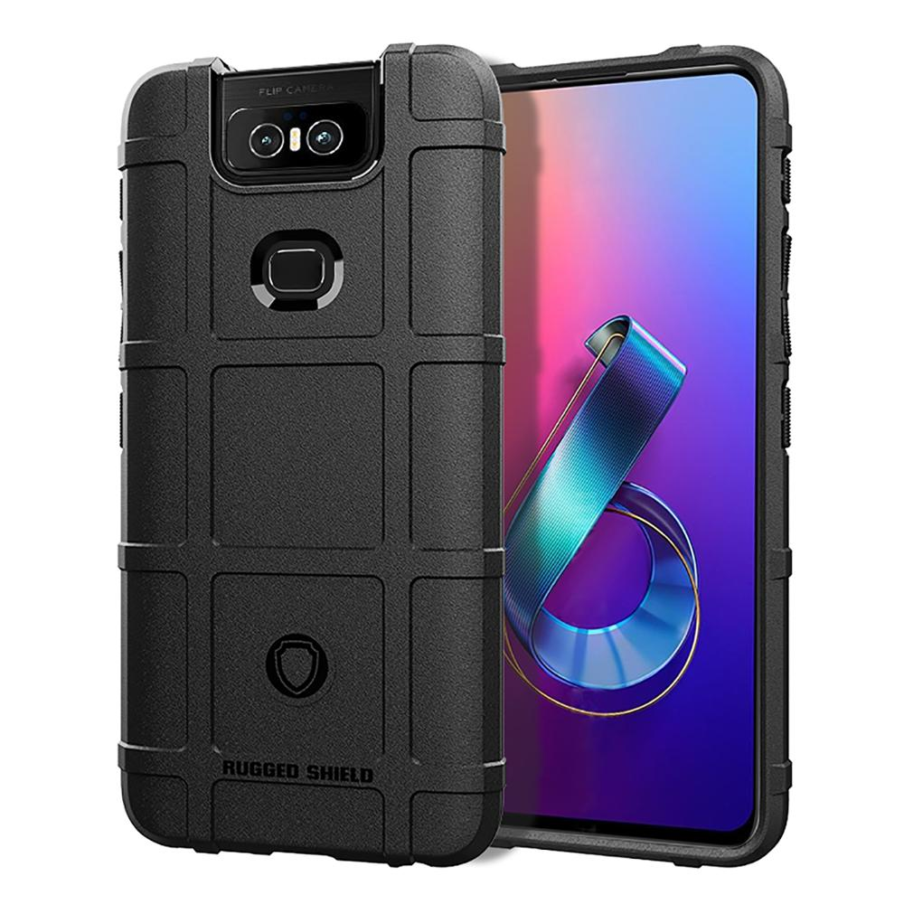 Zenfone 6 ZS630KL Silicone Phone Case For ASUS Zenfone 6 ZS630KL Case Rugged Armor Shockproof Dous Cover