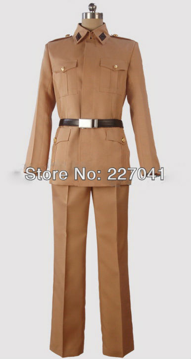 Axis Powers Hetalia Italy uniform cosplay costume Free Shipping