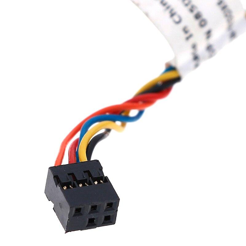 Image 5 - Для Dell Optiplex 390 790 990 3010 7010 9010 085DX6 85DX6 Мощность кнопка включения кабель on AliExpress