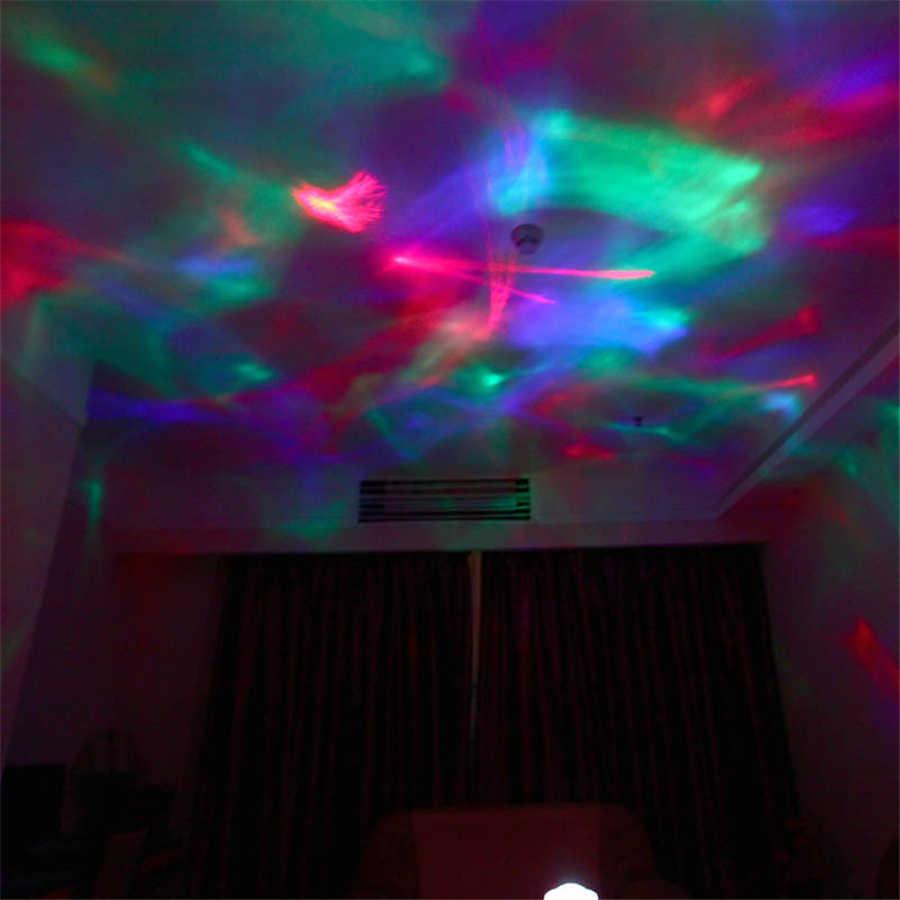 Coversage ночник волны океана Аврора небо динамик проектор для светодио дный маленьких детей сна Романтический LED Звездное Звезда Мастер Сменные лампы