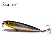 Fishing Lure ABS Construction Wobbler Pencil Lure Hard Bait Artificial Plastic 8cm 9g Isca Pesca Crankbait Fishing Tackle