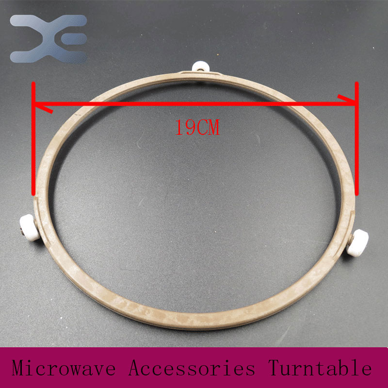 Microwave Oven Parts Plastic Round Shaped Rotating Tray Glass Microwave Plate Support Guide Roller Microwave Oven Parts