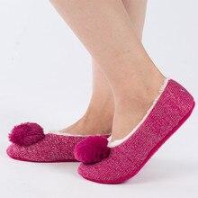 Nueva Mujeres Zapatillas de Algodón Zapatos de la Felpa Caliente Del Invierno En Casa Piso Zapatos Femeninos Arco-nudo Zapatos De Interior Polar Mujer casa Slippe