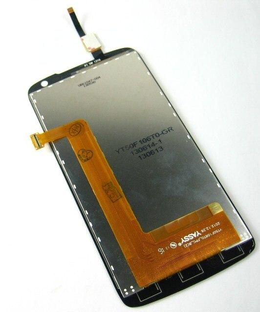 Замена Полный ЖК-Дисплей + Сенсорный Экран Digitizer для Lenovo S820