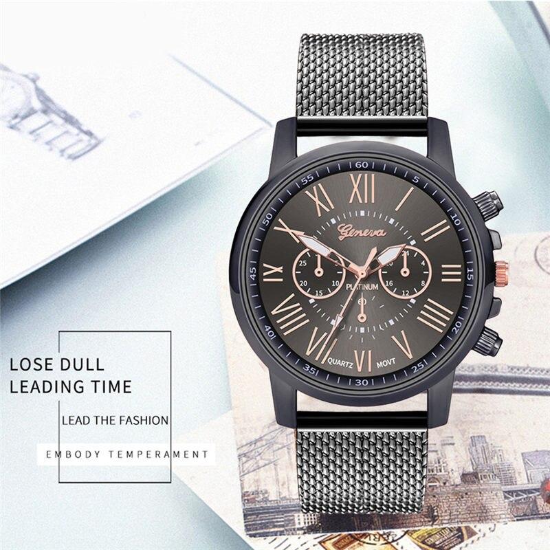 2019 Luxury Watches Quartz Watch Stainless Steel Dial Casual Bracelet Watch Ladies Jewelry Clock Relogio Feminino Masculino