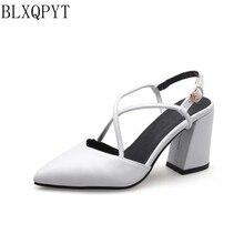 BLXQPYT – sandales à talons hauts pour femme, chaussures de fête, de mariage, de bonne qualité, tailles 32-46, nouvelle collection été