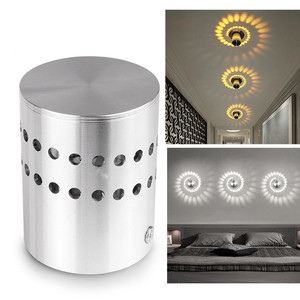 LED Wall Light Spiral Hole Wal