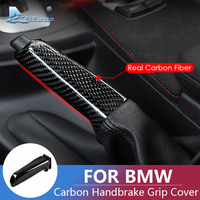 Airspeed Universal Carbon Fiber Car Handbrake Grips Cover Interior Trim for BMW E46 E90 E92 E60 E39 F30 F34 F10 F20 Accessories