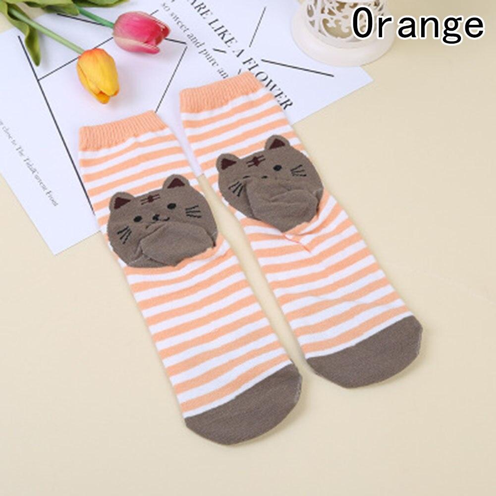 Women Socks Animals Cartoon Puppy Footprints Cotton Socks Floor Casual Socks New