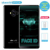 Vkworld S8 5 99 18 9 Aspect Ratio FHD 5500mAh Smartphone Face ID 4GB RAM 64GB